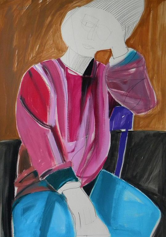 Ritratto di Luana Ghidotti - Gabriele Donelli - Acrilico - 400 €