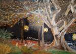 L'albero secolare - Santina Mordà - Olio - 250€