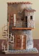 Bagno su balcone - Santina Mordà - scultura su tegola - 100 euro