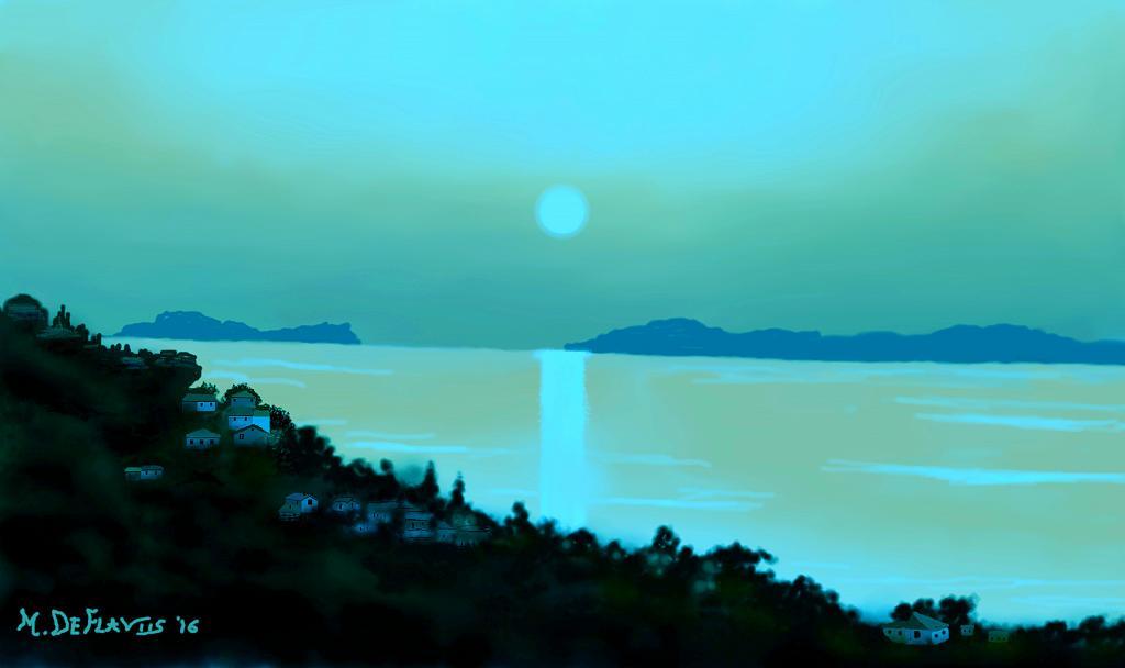 Prima della sera2 - Michele De Flaviis - Digital Art