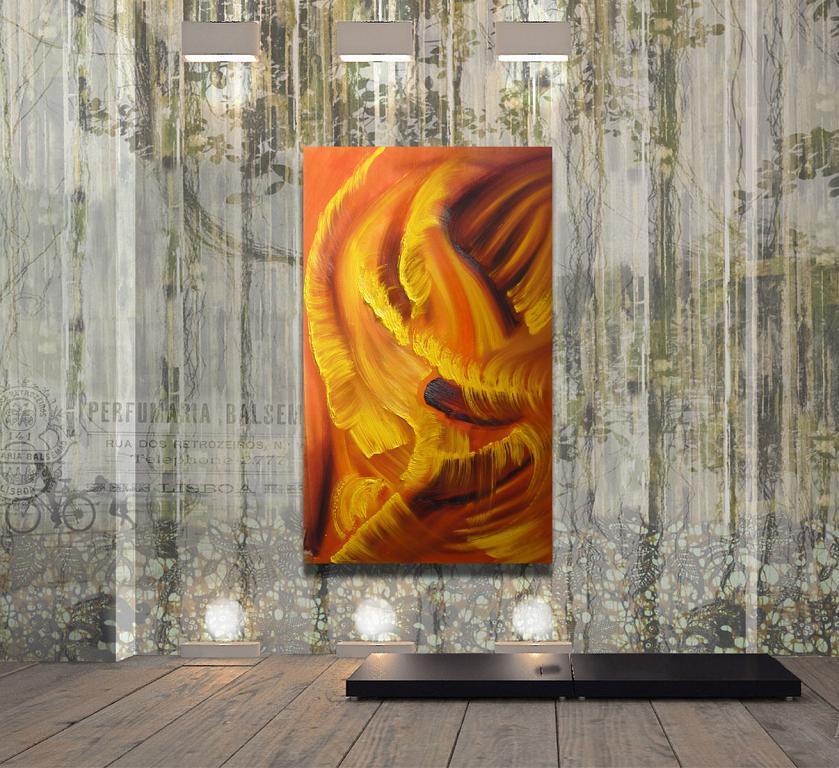 Idillio in giallo - Davide De Palma - Olio - 100 €