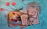 Papaveri rossi - anna casu - Acrilico
