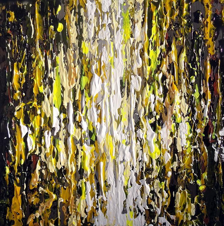 Range of emotions - giallo - Daniela Pasqualini - Acrilico