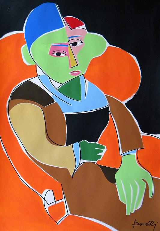 Madame Cezanne - Gabriele Donelli - Acrilico - 800 €