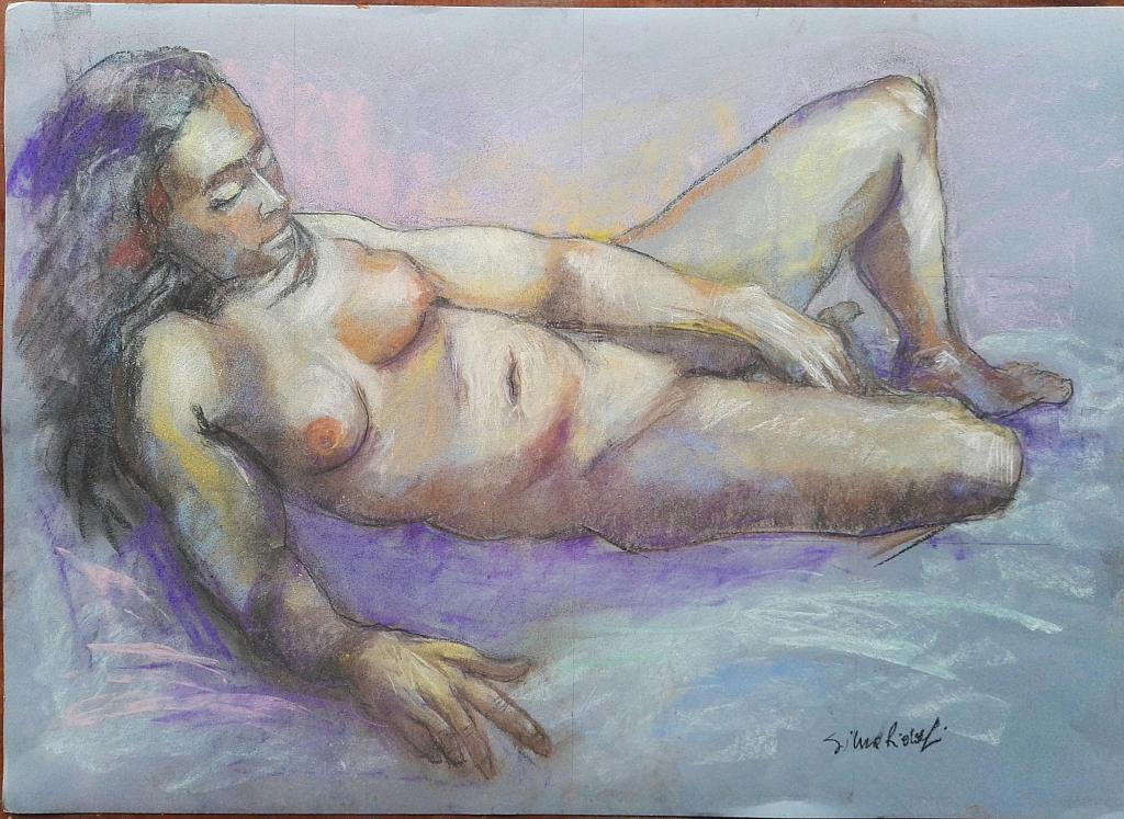 Nudo - SILVIA RIDOLFI - Pastelli - 180 €