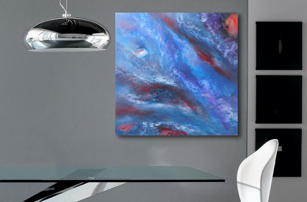 Nebula - Davide De Palma - Olio - 150 €