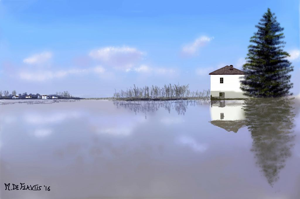 Paesaggio lagunare - Michele De Flaviis - Digital Art