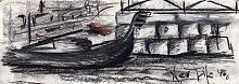 a Venezia - daniele rallo - Carboncino