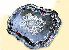 Antico Vassoio - Lucio Forte - smalto su metallo - 250€