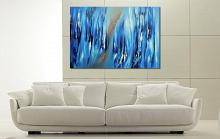 Again lost in blue - Davide De Palma - Olio - 300€