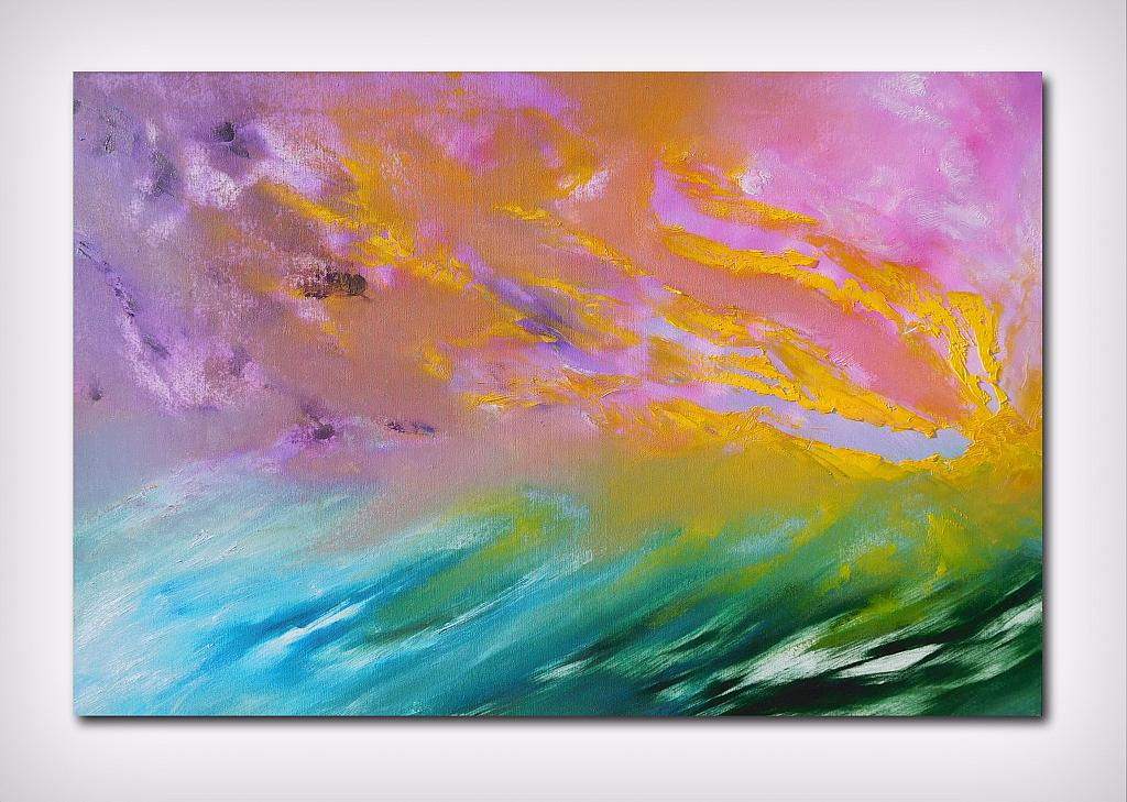 La vie en rose SPEDIZIONE GRATUITA - Davide De Palma - Olio - 300 €