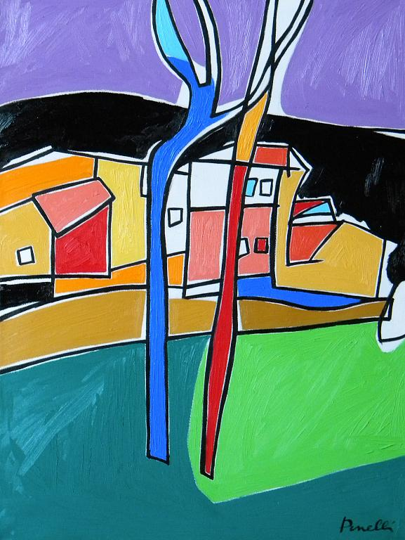 Paesaggio - Gabriele Donelli - Olio - 1300 €