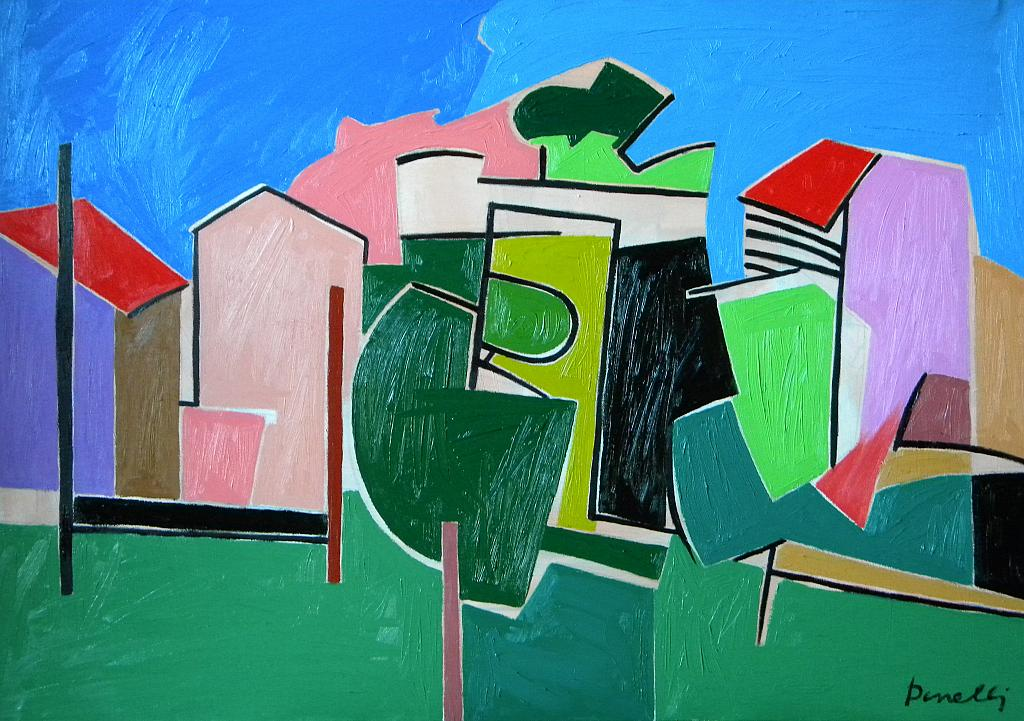 Paesaggio - Gabriele Donelli - Olio - 400 €