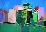 Paesaggio - Gabriele Donelli - Olio - 400 euro