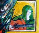 Romantica melodia - mario fanconi - Olio