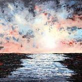 Oltre il fiume/Beyond the river - Daniela Pasqualini - Acrilico