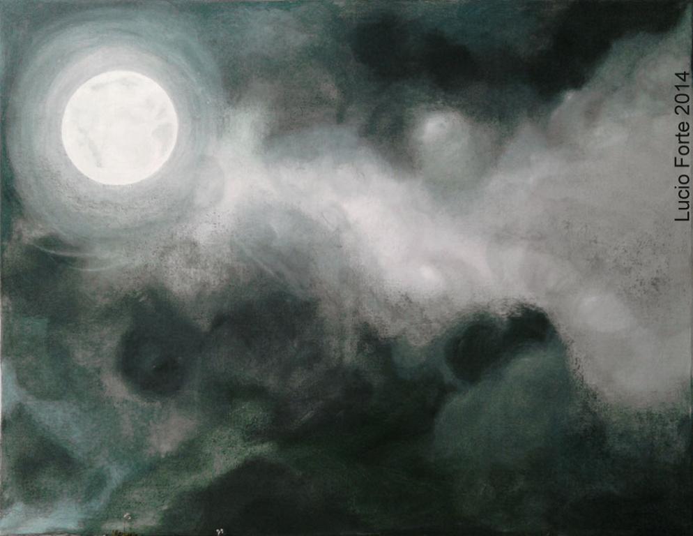 Senza Titolo 18 - Lucio Forte - Acrilico e olio su tela