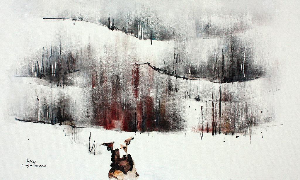 Lucy d'Inverno - Guido Ferrari - Acrilico