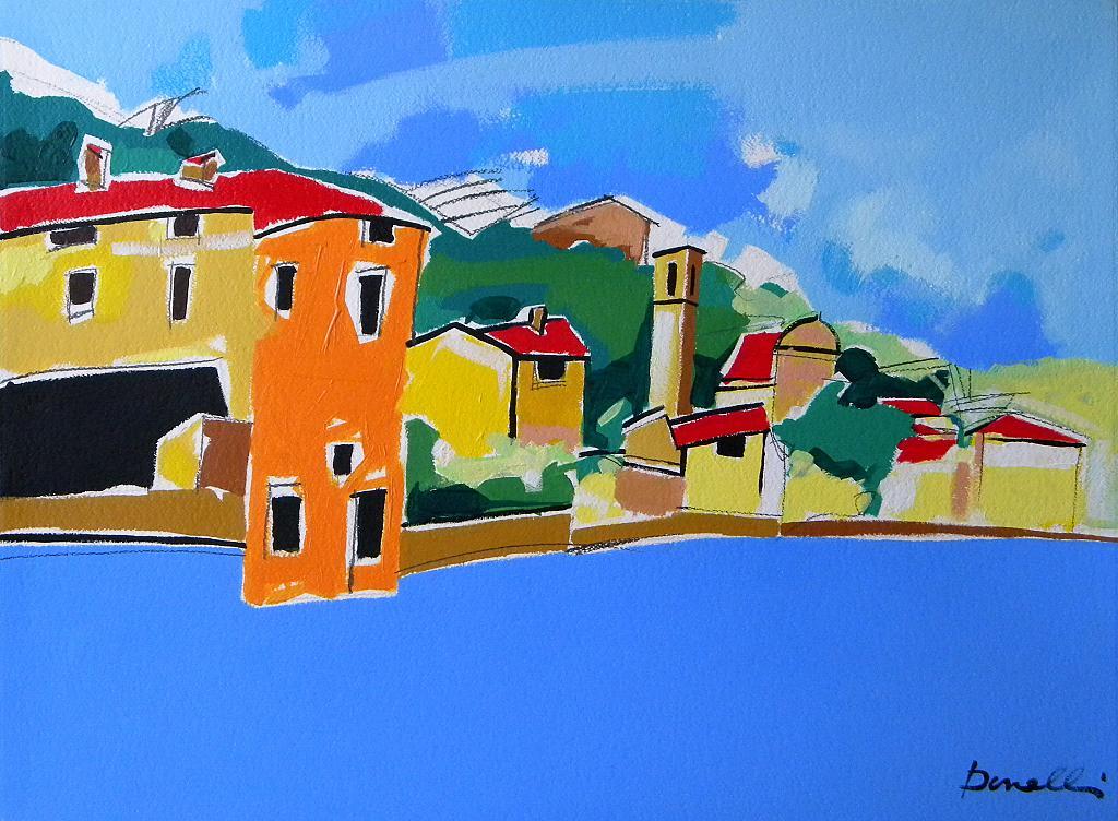 Carzano - Gabriele Donelli - Acrilico - 900 €