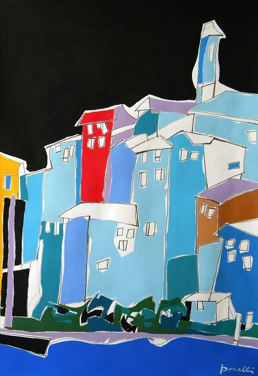 Clusane - Gabriele Donelli - Acrilico - 400 €