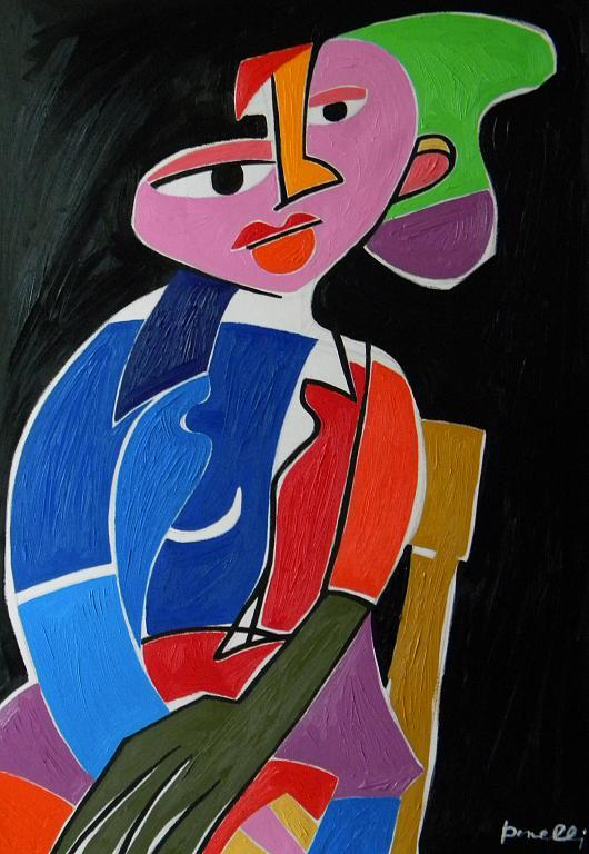 Ritratto di ragazza - Gabriele Donelli - Olio - 600 €