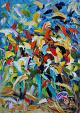 Visione floreale  - Antonino Puliafico - Olio - 900 €