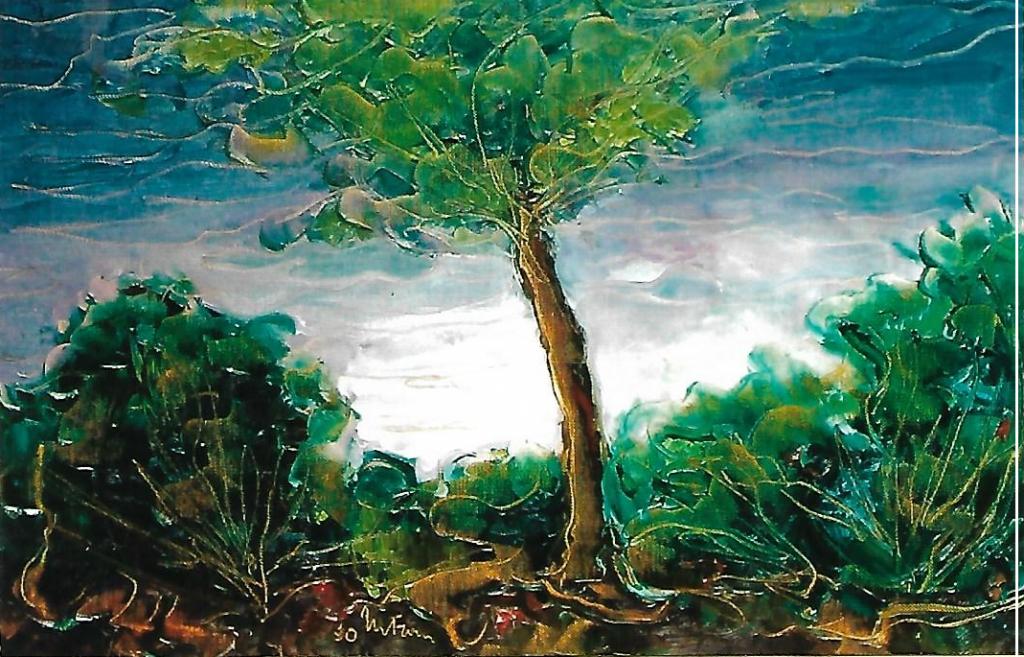 Atmosfera fiabesca - mario fanconi - Olio