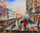 city - francesco ottobre - Acrilico
