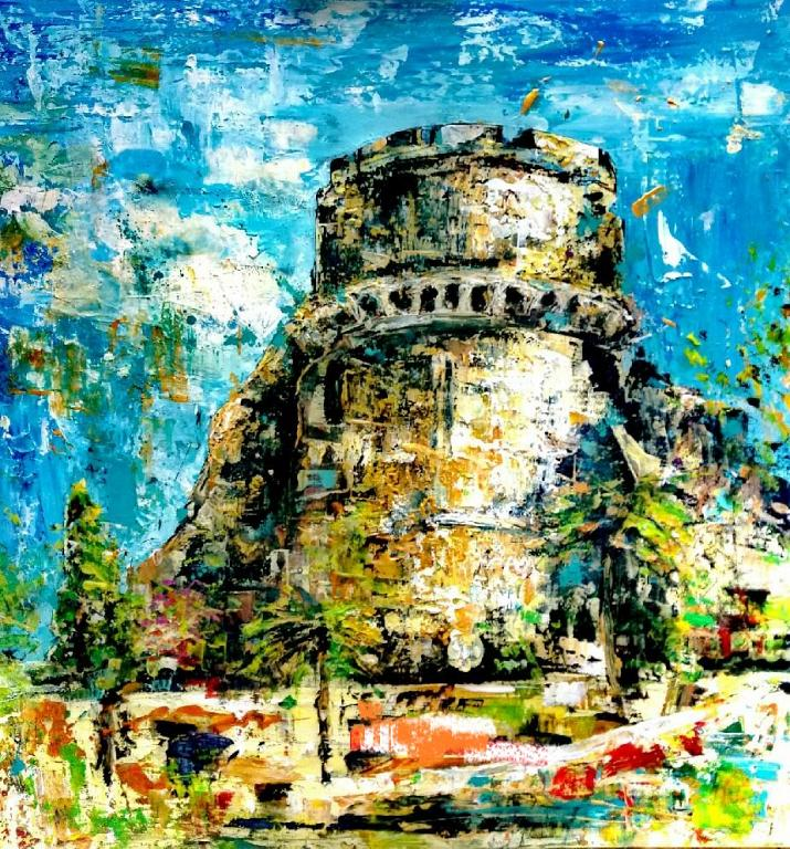 Il Castello - tiziana marra - Action painting - 320,00 €