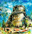 Il Castello - tiziana marra - Action painting - 320,00€ - Venduto!