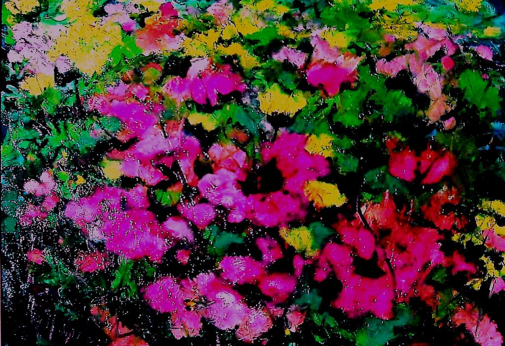 freschezza floreale - mario fanconi - Olio