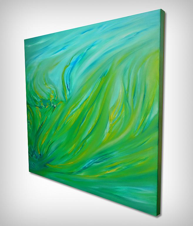 Spring green - Davide De Palma - Olio - 250 €
