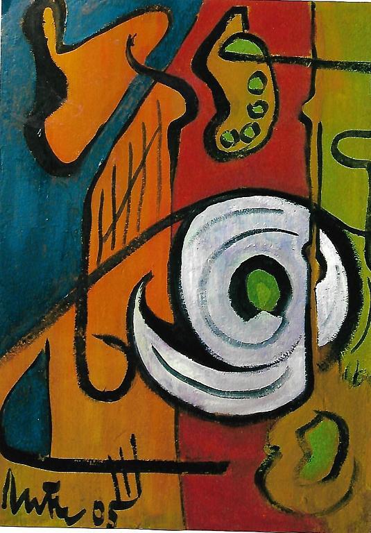 Arte astratta - mario fanconi - Olio