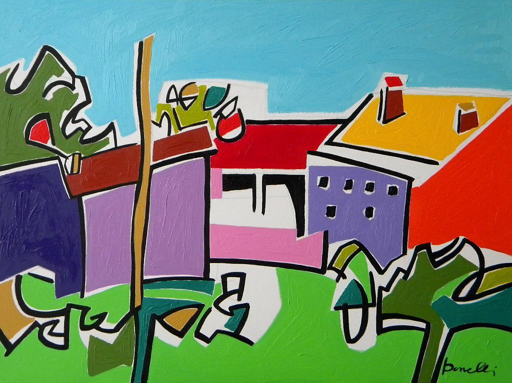 Paesaggio - Gabriele Donelli - Olio - 1200 €