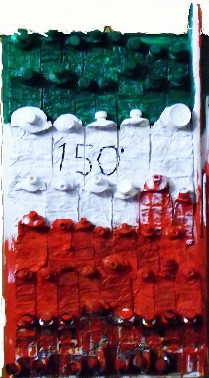 Italia 150 - Pietro Dell Aversana - Olio - 105 €