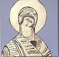 madonna bizantina - franco scacchi - Acrilico - 50€