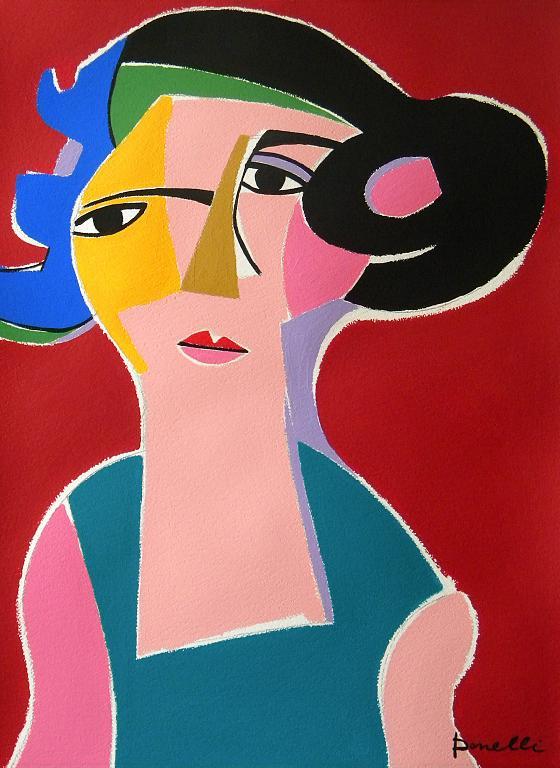 Ritratto di donna - Gabriele Donelli - Acrilico - 400 €