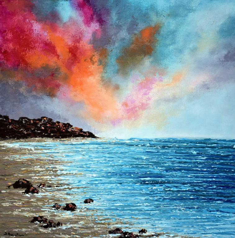 Colors Bursting II - Daniela Pasqualini - Acrilico