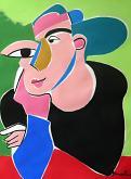 Ritratto di donna - Gabriele Donelli - Acrilico - 1100€