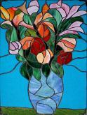 Fiori di primavera - Carlo Bensi - composizione in vetro - 1500€