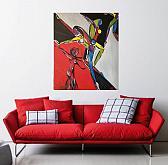 Muses - Spedizione gratuita - Luana Marchisio - Olio - 180€