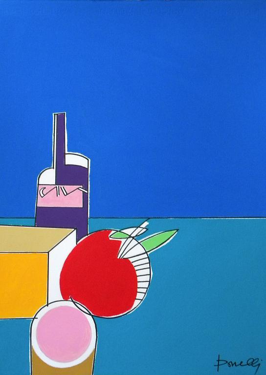 Composizione numero 14 - Gabriele Donelli - Acrilico - 300 €