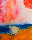 ricordi di mare con conchiglia - daniele rallo - Olio - € - Venduto!