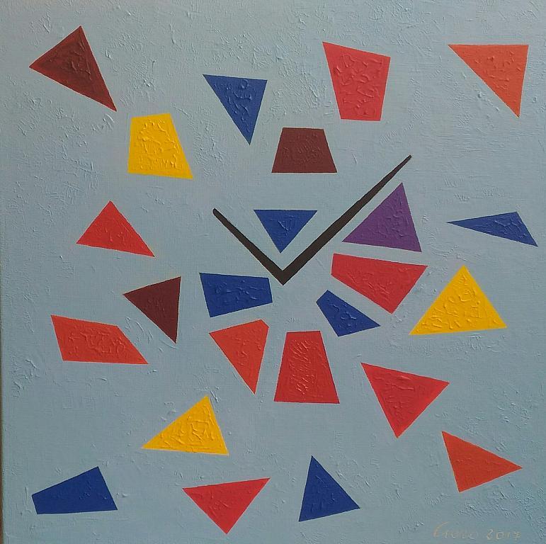 Ritagli di tempo - Girolamo Peralta - Acrilico - 230 €