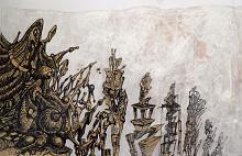 Senza Titolo 22 - Lucio Forte - Acrilico e china su carta