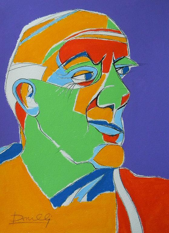 Ritratto di Pablo Picasso - Gabriele Donelli - Acrilico - 900 €