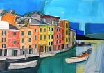 Portofino - Gabriele Donelli - Pastello e acrilico - 600 euro