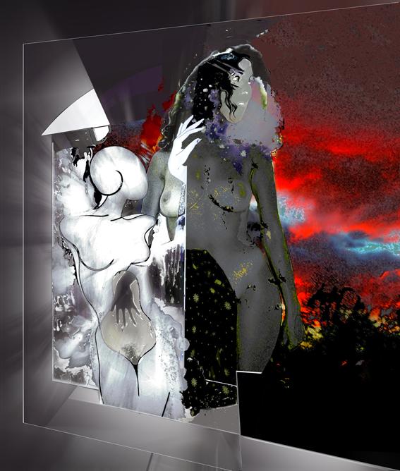 ANTICORPO - stampa su aludibond - Ezio Ranaldi - Digital Art - 500,00 €