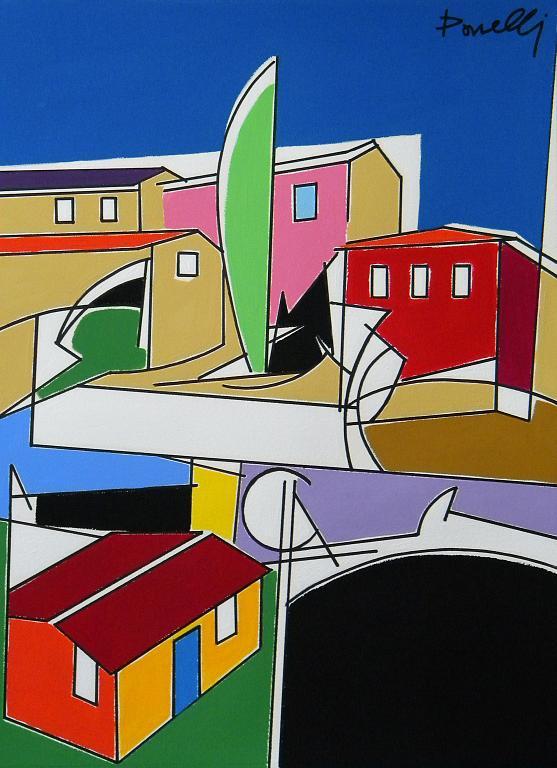 Paesaggio - Gabriele Donelli - Acrilico - 1200 €