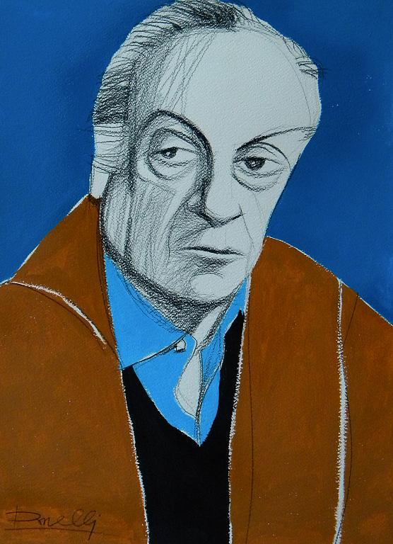 Ritratto di Renato Guttuso - Gabriele Donelli - Acrilico - 800 €